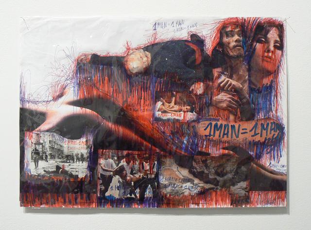 , '1 Man = 1 Man (7/20),' 2002, Rhona Hoffman Gallery