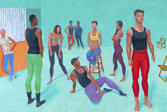 David Hockney, 'The group XI, 7-11 July 2014', 2014, National Gallery of Victoria