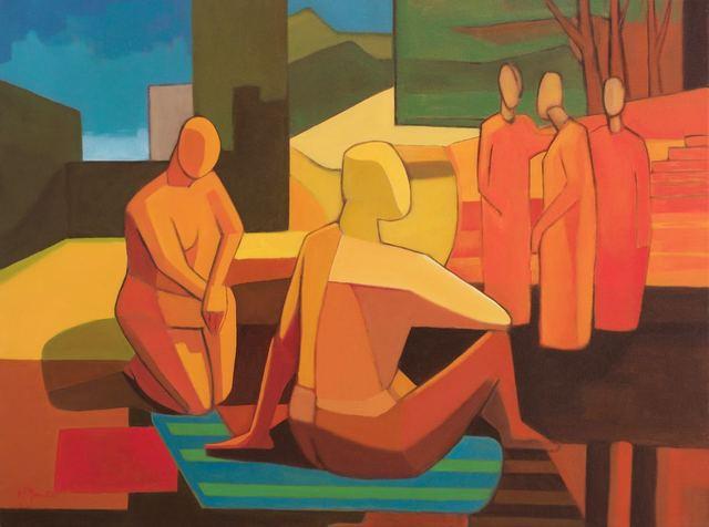 , 'Gossip ,' , Wentworth Galleries