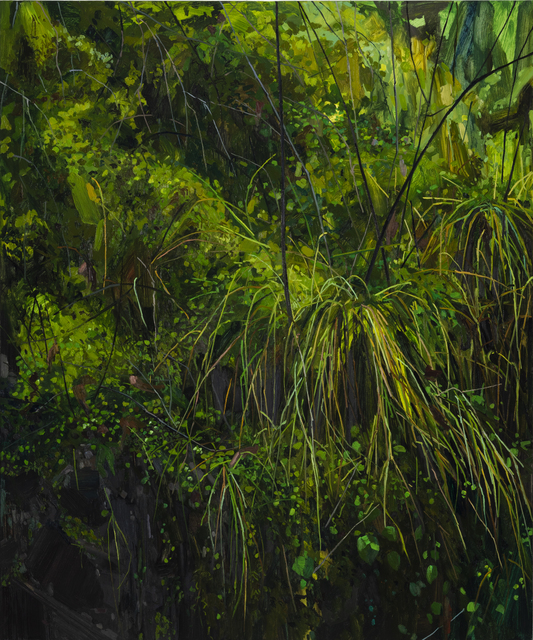 , 'Grass and Moss,' 2018, DC Moore Gallery