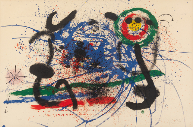 Joan Miró, 'L'Amazone', 1964, Hindman