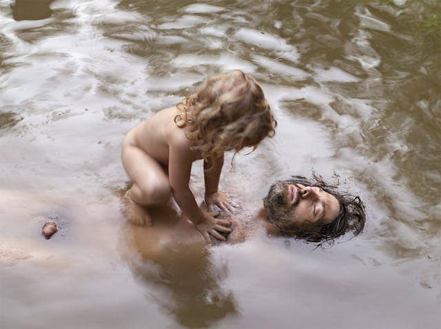 Lucas Foglia, 'Patrick and Anakeesta, Tennessee', 2007, Photography, Chromogenic print, ClampArt