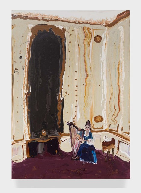 Genieve Figgis, 'Lady with a harp', 2015, Half Gallery