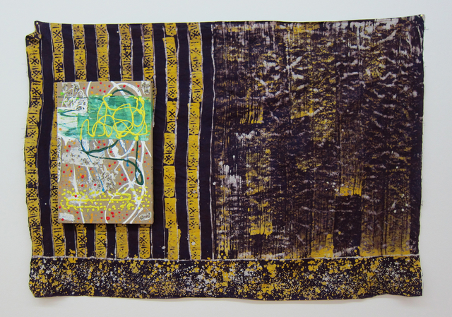 , 'untitled (flag),' 2017, Galerie Rüdiger Schöttle