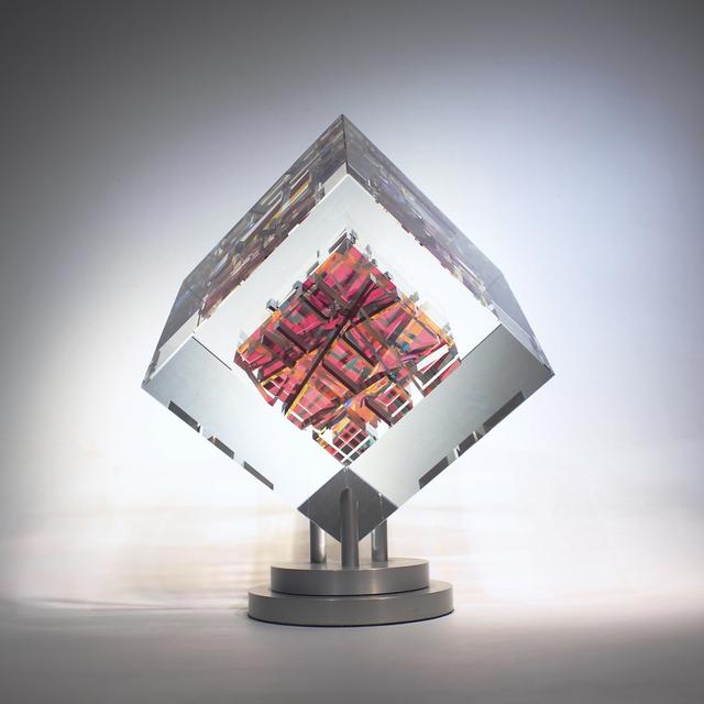 Toland Sand, 'Indigos Cube', 2018, Bender Gallery