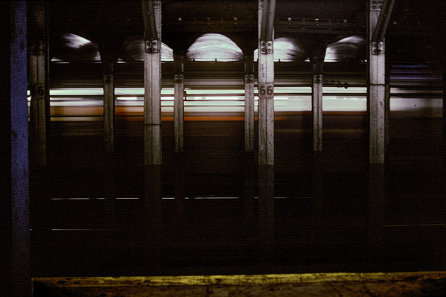 , 'IRT West Side Line, 66 Street, Lincoln Center,' 1981, CHRISTOPHE GUYE GALERIE