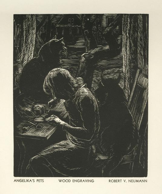 Robert Franz Von Neumann, 'Angelika's Pets', 1936, David Barnett Gallery