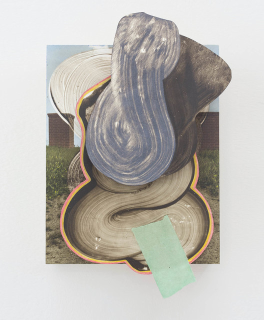 Wil Murray, 'Maustlize 5', 2015, Painting, Hand-colored fiber-based prints, acrylic, masonite and wood, The Hole
