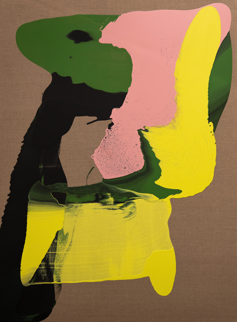 Cabrita, 'The winter flowers #4', 2020, Painting, Acrylic on raw canvas, Galeria Miguel Nabinho