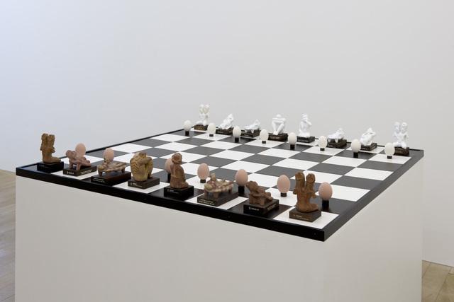 , 'Schering Chess,' 2015, Galerie Peter Kilchmann