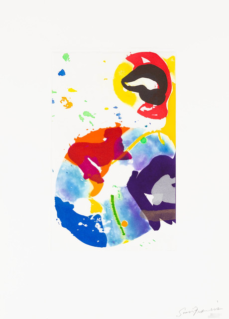 Sam Francis, 'Untitled (SFE-091', 1993, Print, Aquatint, Christopher-Clark Fine Art
