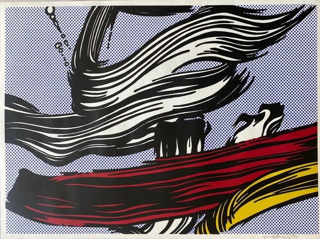 Roy Lichtenstein, 'Brushstrokes', 1967, Print, Screenprint on off-white wove paper, Fine Art Mia