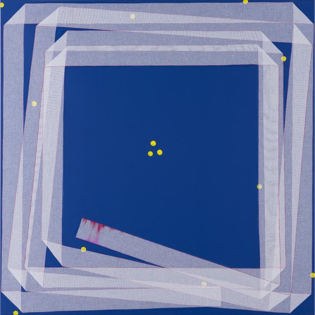 Noel Dolla, 'Plis et replis suite bleue', PIASA