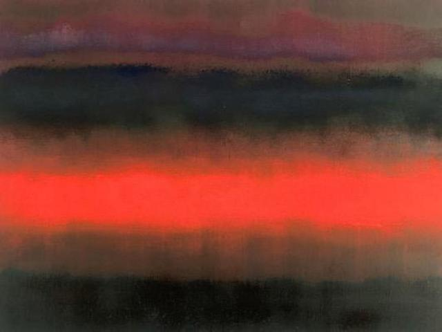 , ''Three Layers of Cloud', from 'Somewhere Between Two Worlds' series ,' 2019, Tanya Baxter Contemporary