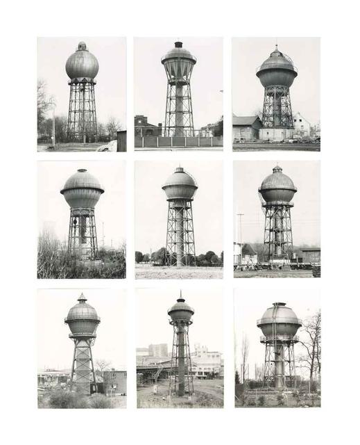 , 'Wassertürme,' ca. 1980, Ludorff
