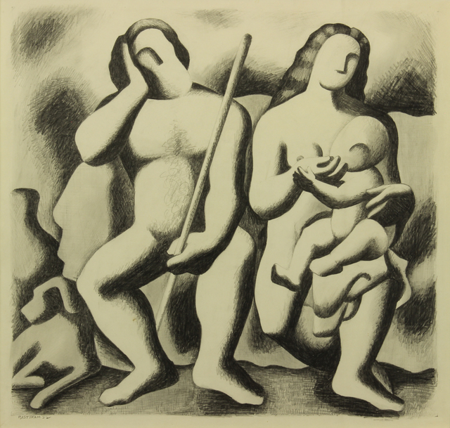 , 'The Family,' 1932, Addison Rowe Gallery
