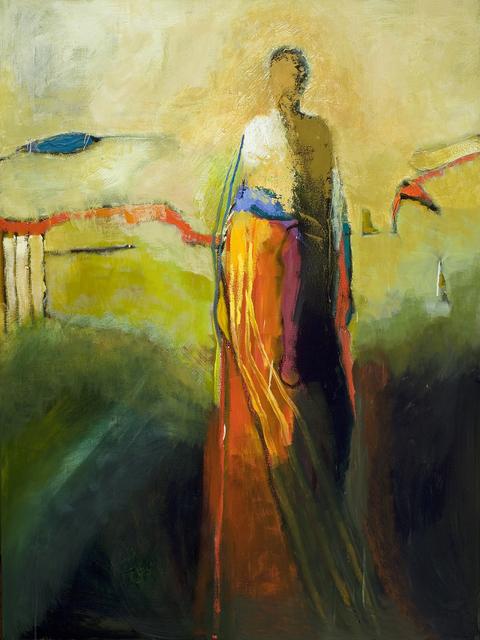 , 'The Red Bridge,' 2016, Sue Greenwood Fine Art