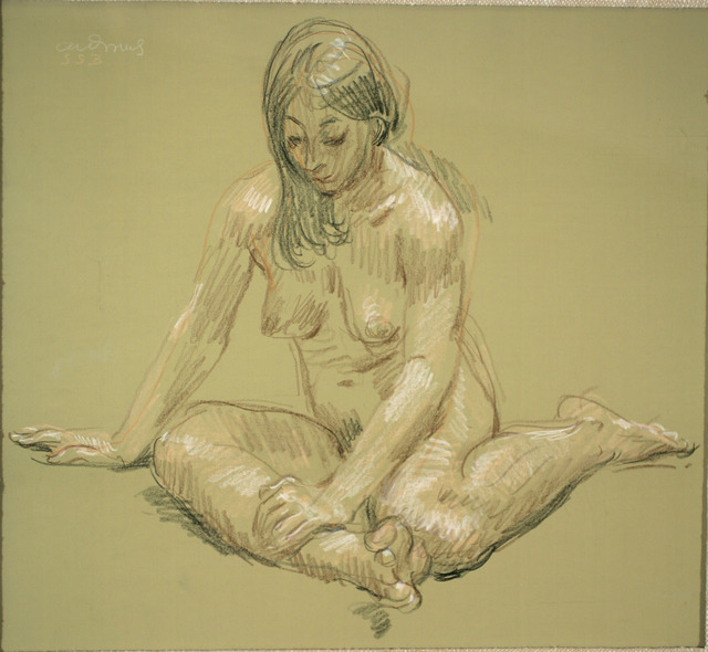 Paul Cadmus, 'Female Nude SSB', ca. 1970, ACA Galleries