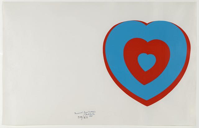 , 'Coeurs Volants (Fluttering Hearts),' 1961, Moeller Fine Art