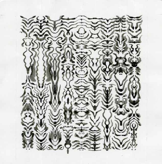 , 'UNTITLED INKBLOT DRAWING (1423),' 2003, Anglim Gilbert Gallery