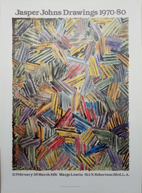 Jasper Johns, 'Jasper Johns Drawings 1970-80', 1981, Graves International Art