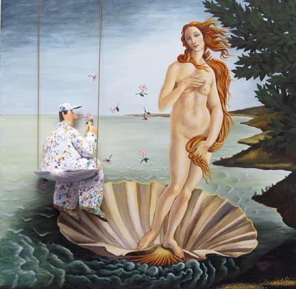 , 'The Birth of Venus (Botticelli),' 2015, Zenith Gallery