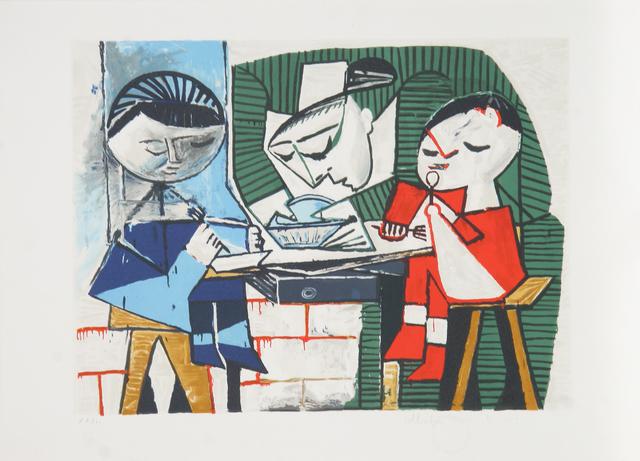Pablo Picasso, 'Les Repas des Enfants, 1953', 1979-1982, RoGallery