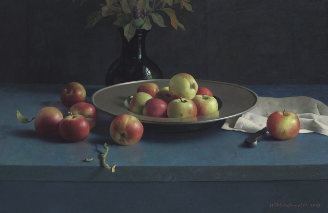 , 'Still Life with apples and pewter plate,' 2005, Artvera's Art Gallery