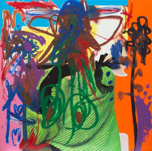 , 'Green Lady,' 2016, Galerie Krinzinger
