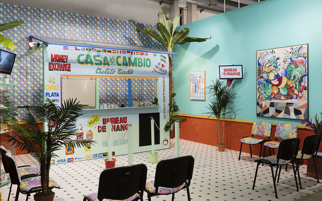 , 'Installation view, Casa de Cambio,' 2016, Laura Bartlett