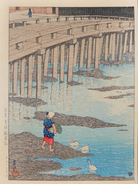 , 'Gionbashi, Amakusa,' 1924, Ronin Gallery