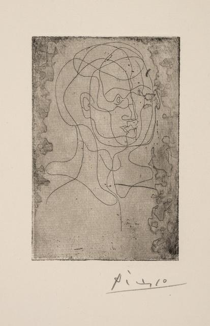 Pablo Picasso, 'Tête d'homme (Bloch 55; Baer 88 Ba)', 1922/23, Forum Auctions