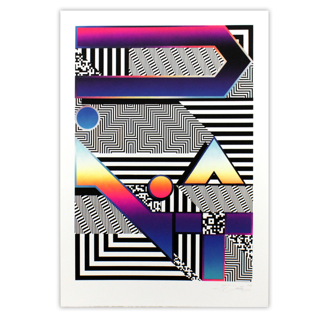 Felipe Pantone, 'DYNAMICHROME 3 (Framed)', 2017, Station 16 Gallery