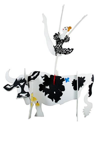 , 'Cow And Ballerina,' 1990, David Barnett Gallery