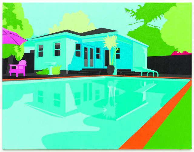 , 'Exterior with Pool 01,' 2013, Sullivan+Strumpf