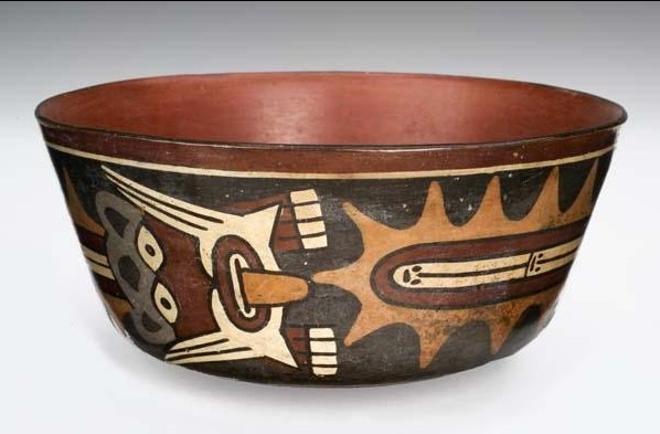 Unknown Artist, 'Bowl with Mythological Being', 500-300, Davis Museum