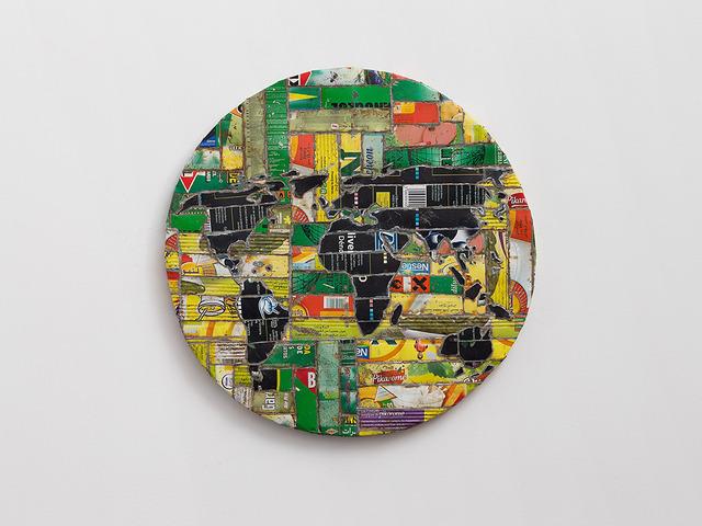 , 'Mappemonde,' 2010, Dvir Gallery