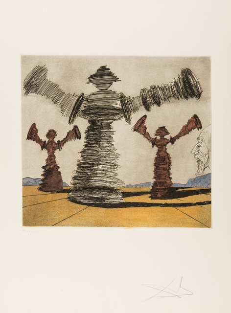Salvador Dalí, 'The Spinning Man (Field 80-1D)', 1980, Forum Auctions