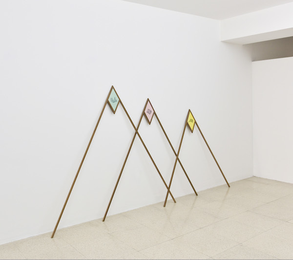 , 'Three Peaks,' 2017, The Contemporary London