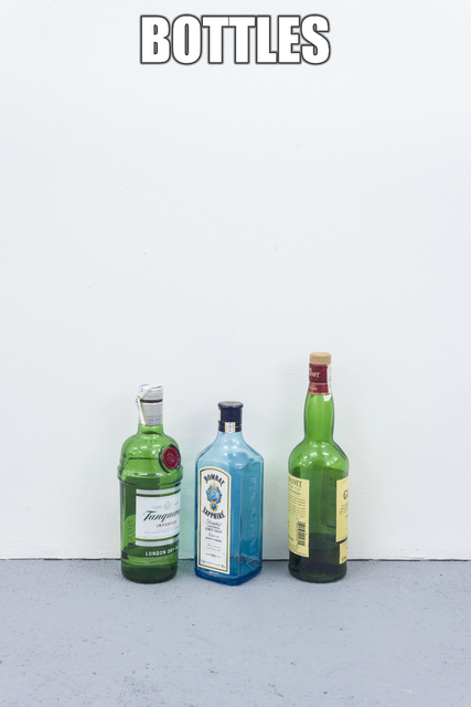 , 'They are these or the may be others/ #BOTTLES,' 2014-2015, 3+1 Arte Contemporânea
