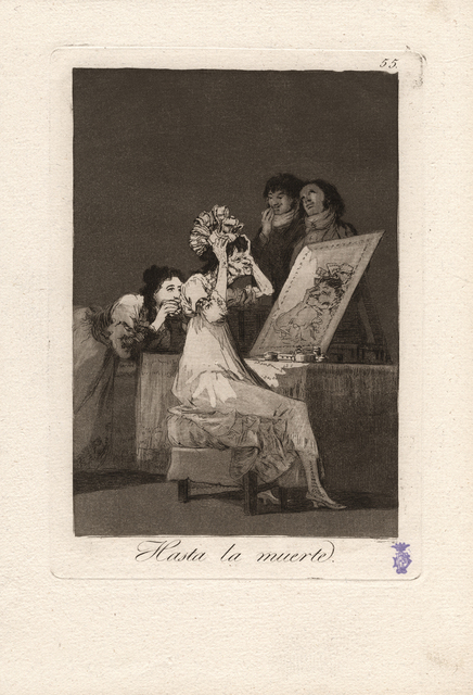 , 'Hasta la muerte. (Until death.),' 1796-1797, Seattle Art Museum