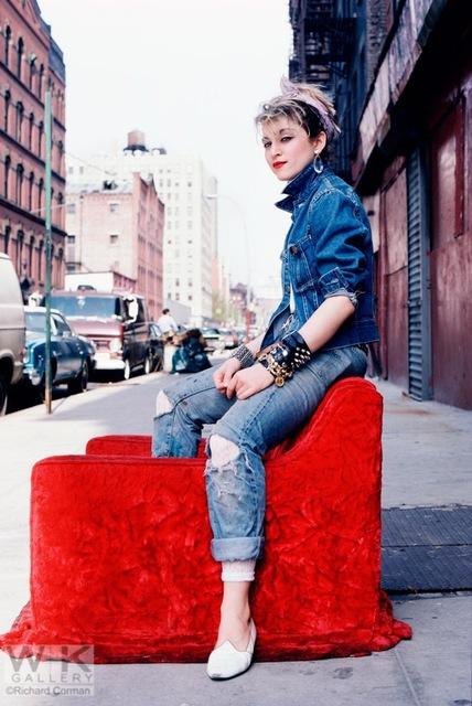 , 'Madonna Red Chair,' 1983, Weiss Katz Gallery