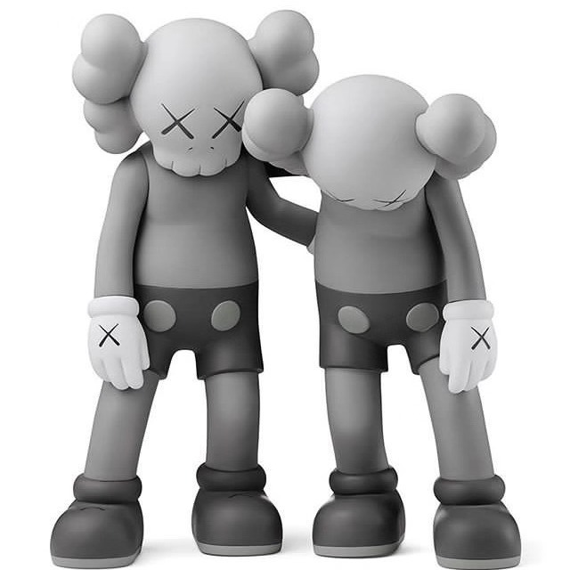 KAWS, 'ALONG THE WAY GREY', 2019, Dope! Gallery