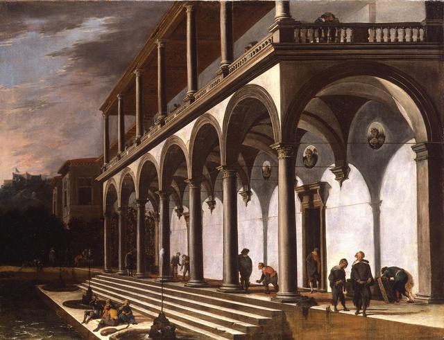 Viviano Codazzi, 'A View of the Villa Poggioreale, Naples', 1642-1643, Painting, Oil on canvas, Robilant + Voena