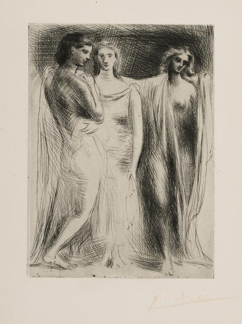 Pablo Picasso, 'Les Trois Femmes', 1924-1925, John Szoke