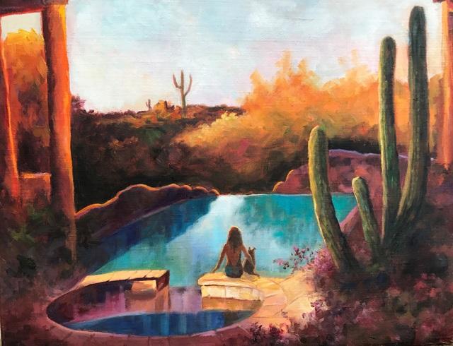 , 'Southwest Oasis,' 2017, Dog & Horse Fine Art