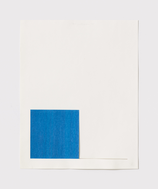 , 'Untitled Cut, S#7,' 1977, Bookstein Projects