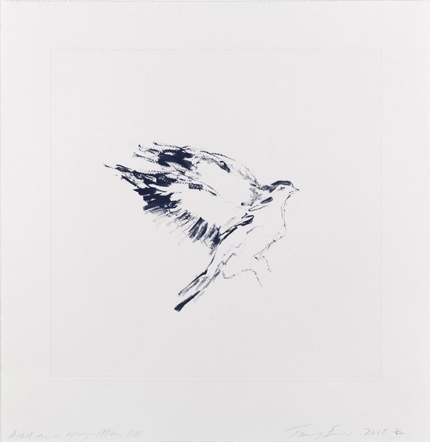 Tracey Emin, 'Bird on a Wing After DB', 2018, Hang-Up Gallery