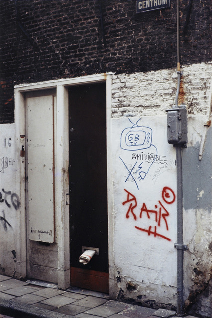 , 'Amsterdam,' 1981, Quadrado Azul