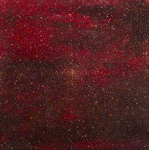 , 'Starting point in red,' 2016, Albert Merola Gallery